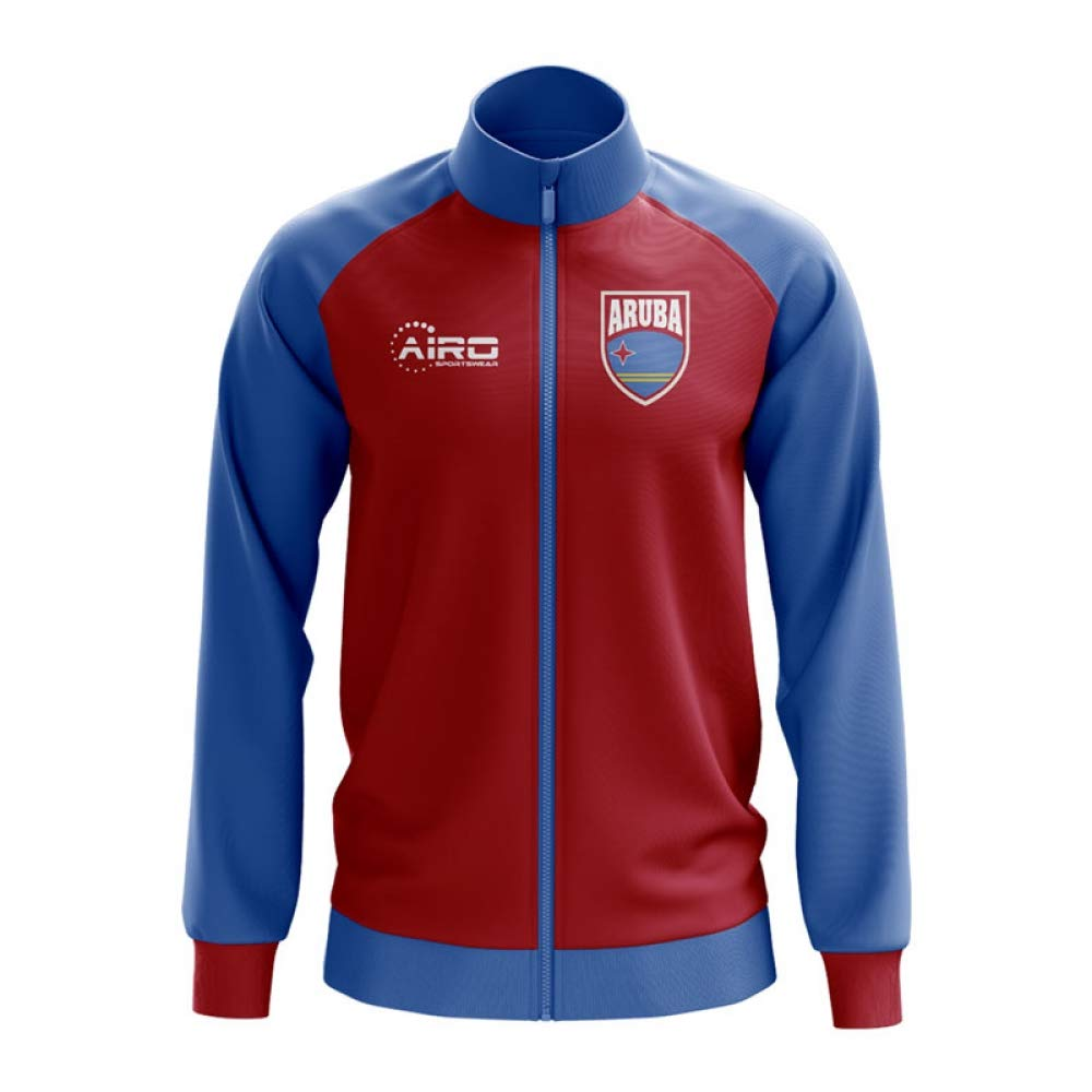 Airo Sportswear Aruba Concept Football Track Jacket (ROT) - Kids