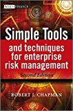 Simple Tools and Techniques for Enterprise Risk Management 2nd Edition