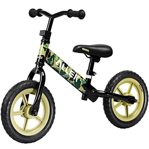 Balance Bike for Kids & Toddlers ALLEK 12 No-Pedal Balance Bike for Kids Boys GirlsPerfect for Balance Training Your 18 Month to 6 years Old Child [並行輸入品] B07BFVRMHD