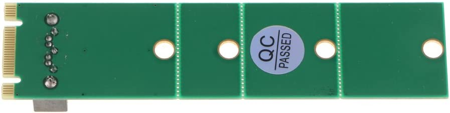 Almencla NGFF M.2 to SATA Adapter Converter Expansion Riser Card for Computer Desktop