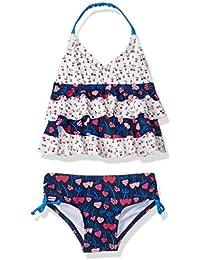 6292e9a35282c Girls Ruffle Top Bikini Swim Bathing Suit