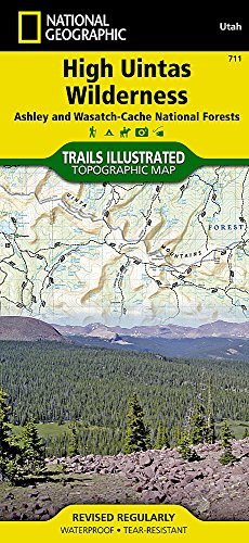 - High Uintas Wilderness Map