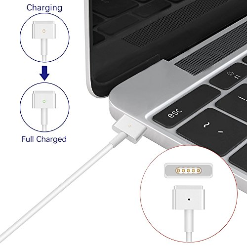 Yulan Compatible Charger for MacBook pro, 60W Magsafe 2 T-Tip Power Adapter Replacement for MacBook Pro Charger and 13-inch MacBook Pro-Before Mid 2012 Models by Yulan (Image #4)