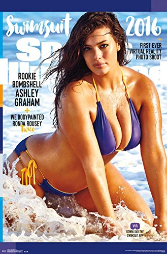 Sports Illustrated- Ashley Graham 2016 Poster