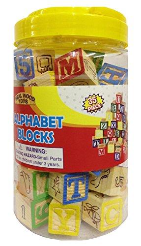 Homeware 35 Piece ABC Stack N