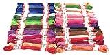 CRPK's Premium Embroidery floss 50 skeins Rainbow
