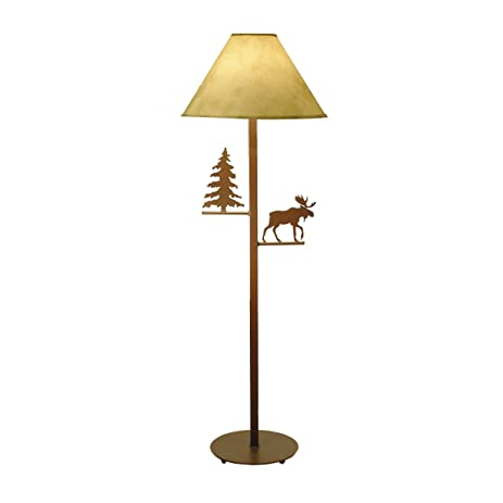 Amazon evergreen moose floor lamp home kitchen evergreen moose floor lamp aloadofball Image collections