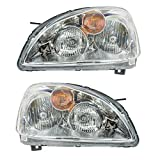 2004 altima headlight assembly - Headlights Headlamps Pair Set Left LH & Right RH for 02-04 Nissan Altima