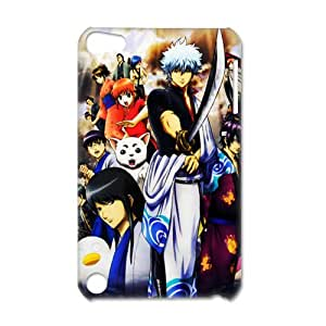 3D Print Classic Japanese Manga Series&Gitama Background Case Cover for IPod Touch 5- Personalized Hard Back Protective Case Shell-Perfect as gift
