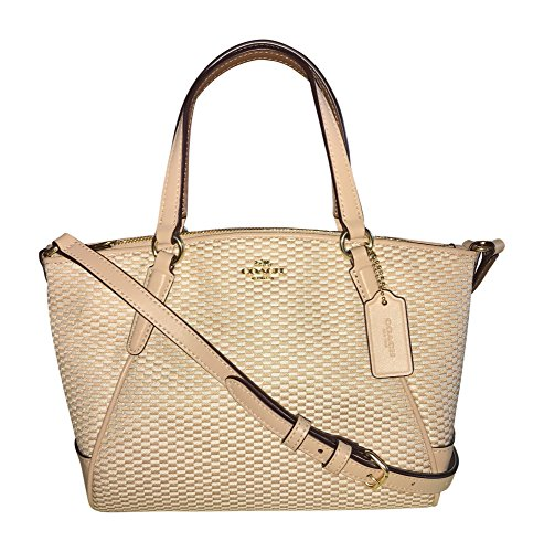 Beechwood Satchel Coach Crossbody Kelsey Legacy Handbag Jacquard Milk Mini 4xqqSPwp8z