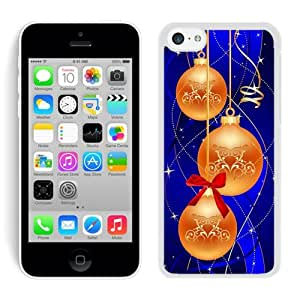 Diy Iphone 5C TPU Case Merry Christmas White iPhone 5C Case 55