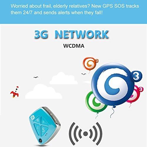 Mini localizador GPS Android iPhone chip GPS cámara WiFi lbs SOS ...