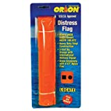 Orion Safety Products Orange Distress Flag, 3 x 3-Feet