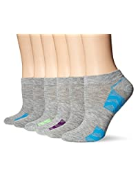 Fruit of the Loom Women's 6 Pack Sport Low Cut Socks