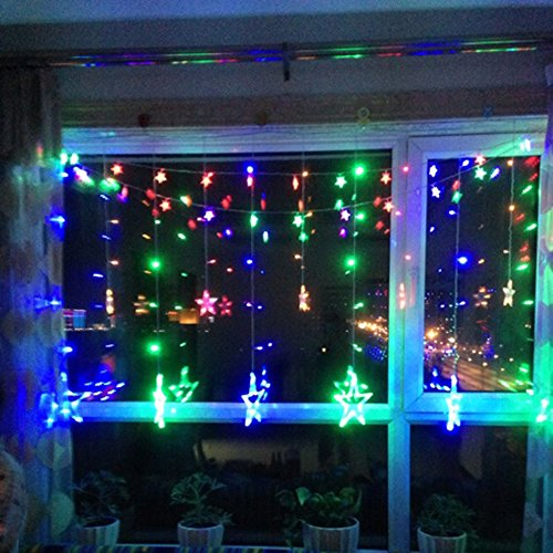 110v Us Plug 168 Led Star Lights Led Star Fairy Light For