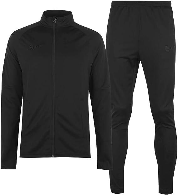 Chándal deportivo de calentamiento de 2 piezas para hombre, chaqueta y pantalones, línea Academy: Amazon.es: Ropa y accesorios