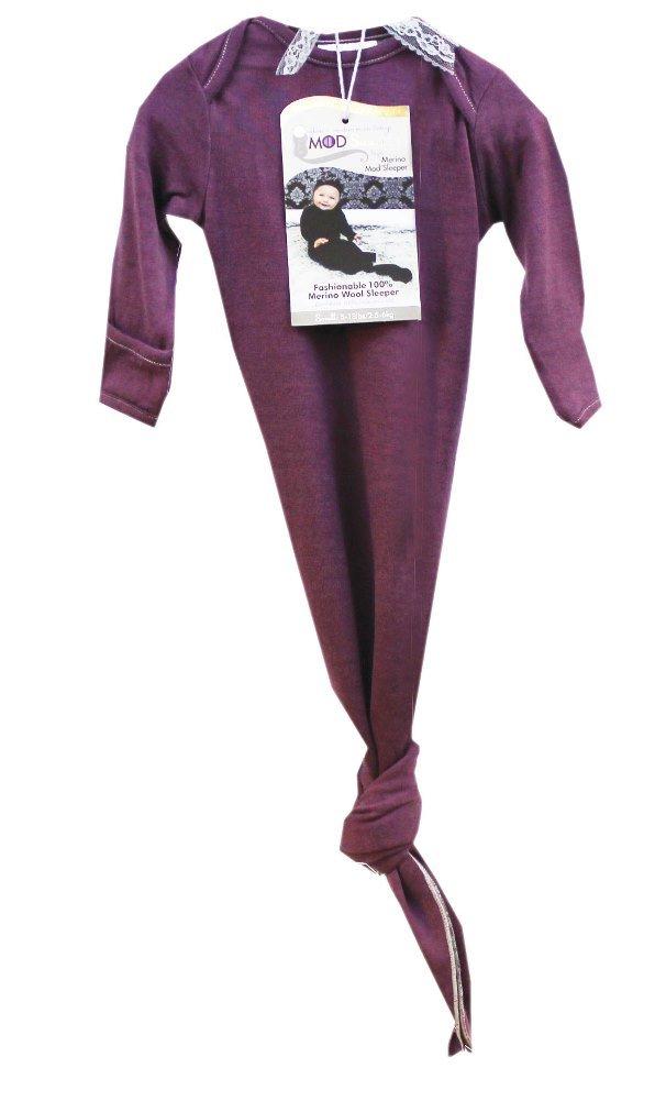 KB Designs Woombie Mod'Swad Shangrila Merino Sleeper, Purple, 14-19 Pound