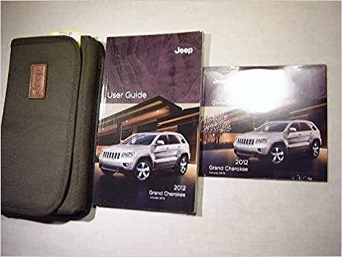 jeep owners manual 2012