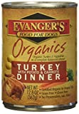 Evanger's Evanger's Organic Turkey/Potato Canned Dog Food Evanger's Organic Turkey/Potato Canned Food