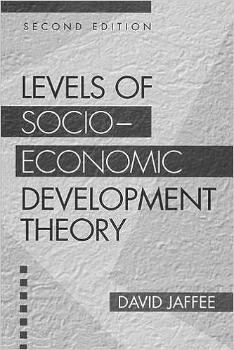 Book Levels of Socio-economic Development Theory, 2nd Edition
