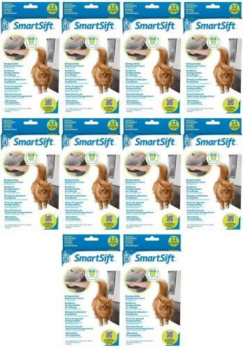 Catit SmartSift Replacement Liners for Cat Pan Base 120pk (10 x 12pk)