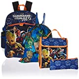 Marvel Boys' Guardians of the Galaxy 5pc Set Backpack, Blue