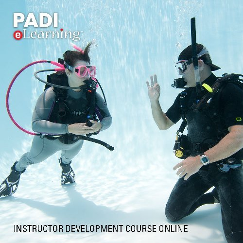 PADI Online IDC Instructor Development Course Scuba Diving eLearning Instructor Development Course IDC On Line Classroom Dive Books ()