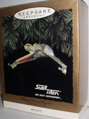 STAR TREK KLINGON BIRD OF PREY HALLMARK KEEPSAKE ORNAMENT 1994