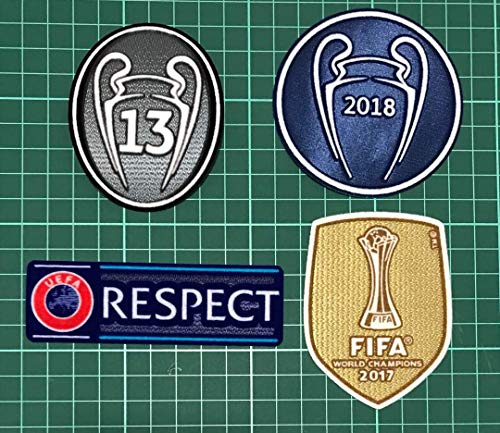 ProApparels Real Madrid Champions League Patch Set 2018/2019