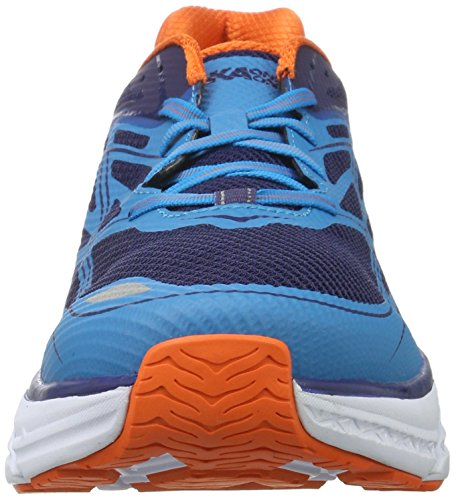 Hoka One One Clifton 3 Medieval Blue Red Orange Azul (Medieval Blue/red Orange)