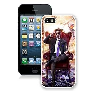Saints-Row-IV White Best Buy Customized Design iPhone 5S Case