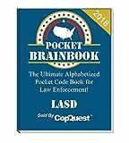 Pocket Brainbook - Los Angeles Sheriff's Department Edition - 2018