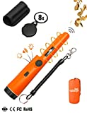 Metal Detector,2018 New High Sensitivity 360° Side-Scan Pinpointer Metal Detector One Button Easy Operation With Woven Holster,Mini Magnifier,Waterproof Bag And Elastic Rope