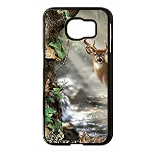 Realtree Deer Black Phone Case for Samsung S6