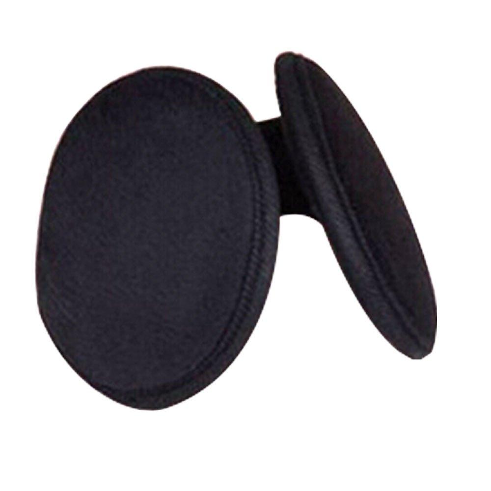 Womens Mens Black Earmuff Winter Ear Muff Wrap Band