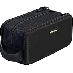 A beautifully simplistic, classy design  Our toiletry bag has been designed to keep you traveling in style at all times. The minimalistic black design is perfect for both men and women and slots in easily with your luggage. Made from tough, ...