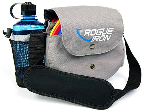 Rogue Iron Disk Golf Sling Bag(Gray)