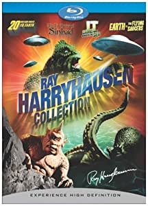 Ray Harryhausen Collection + BD Live (20 Million Miles to Earth, Earth vs. Flying Saucers, It Came from Beneath the Sea, 7th Voyage of Sinbad) [Blu-ray]