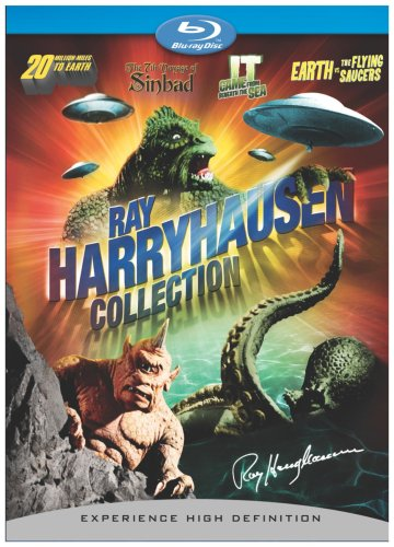 (Ray Harryhausen Collection + BD Live (20 Million Miles to Earth, Earth vs. Flying Saucers, It Came from Beneath the Sea, 7th Voyage of Sinbad) [Blu-ray])