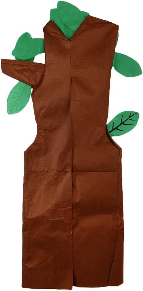 Traje de Vegetal Árbol Actuación No Tejido Bosque Animales Equipo Disfraz Ropa Linda Muchachos: Amazon.es: Hogar
