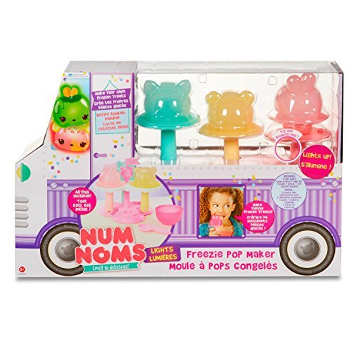 Num Noms LIGHTS FREEZIE POP MAKER - Make Your Own Frozen Treats