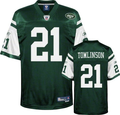 NFL Football Trikot Jersey New York NY Jets Ladainian Tomlinson #21 Premier grün RBK