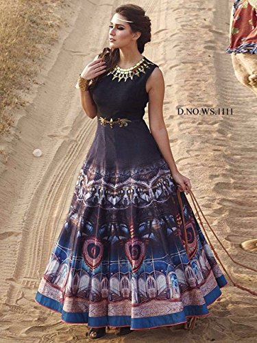 Salwar Patiala Dres Cotton Salwar Ready Delisa India G3 Made Pakistani Blue Embroidered Royal Kameez Suit gRqwtEax