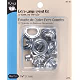 Dritz Extra Large Eyelet Kit - Nickel