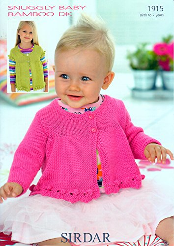 Sirdar Baby Bamboo Dk Knitting Pattern 1915 Amazon Kitchen