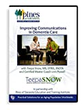 """""""Improving Communications in Dementia Care"""" 2 DVD Set with dementia expert Teepa Snow"""