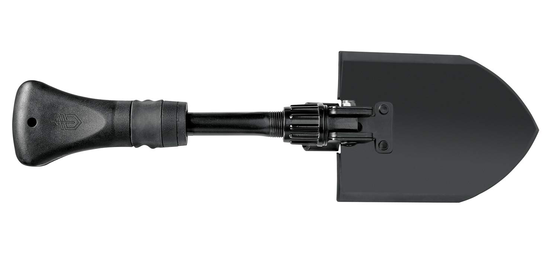 Gerber Klappspaten ausgeklappt Schwarz : 41,9 cm L/änge 22-41578 Gorge Folding Shovel