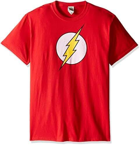 DC Comics Men's the Flash Logo T-Shirt
