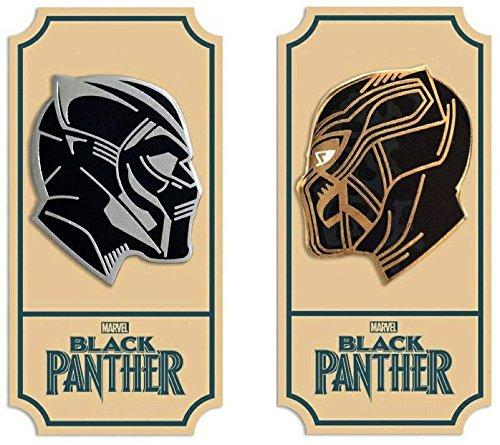 Mondo Black Panther Enamel Pin Set Black Panther Killmonger Matt Taylor