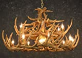 Whitetail 6 Antler Chandelier - SALE